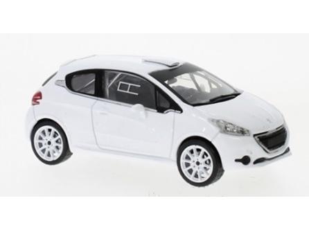ixo/イクソ プジョー 208 R2 2013 ホワイト スペアホイール&タイヤセット付
