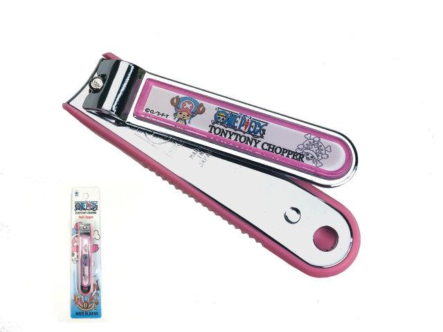 ニッケン刃物 ワンピース爪切り チョッパーモデル ピンク