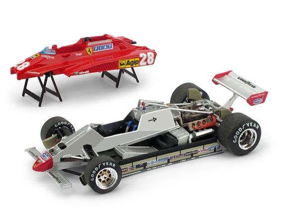 BRUMM/ブルム フェラーリ  126C2 1982年サンマリノGP #28 D. Pironi