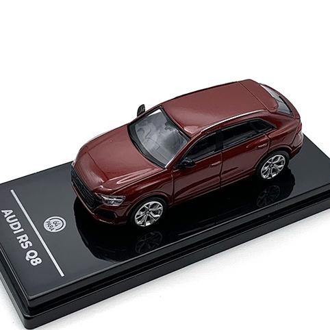 PARAGON/パラゴン アウディ RS Q8 メタリック マタドールレッド RHD