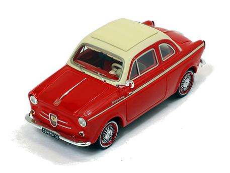 Premium-X/プレミアムX フィアット 500 NSU ヴァインベルク  クーペ  1960  レッド/ホワイト