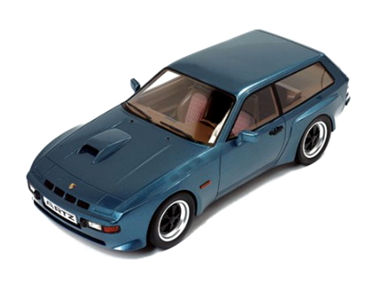"Premium-X/プレミアムX ポルシェ 924 ターボ コンビ ""ARTZ"" 1981 ダークブルー"