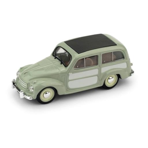 BRUMM/ブルム フィアット 500C BELVEDERE 1951 グリーン/ライトグレー  クローズド