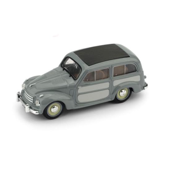 BRUMM/ブルム フィアット 500C BELVEDERE 1951 グレー/ライトグレー クローズド