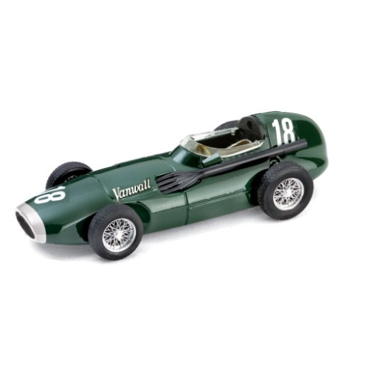 BRUMM/ブルム ヴァンウォール F.1 1957 イギリスGP 1位 #18 Stirling Moss/Tony Brooks