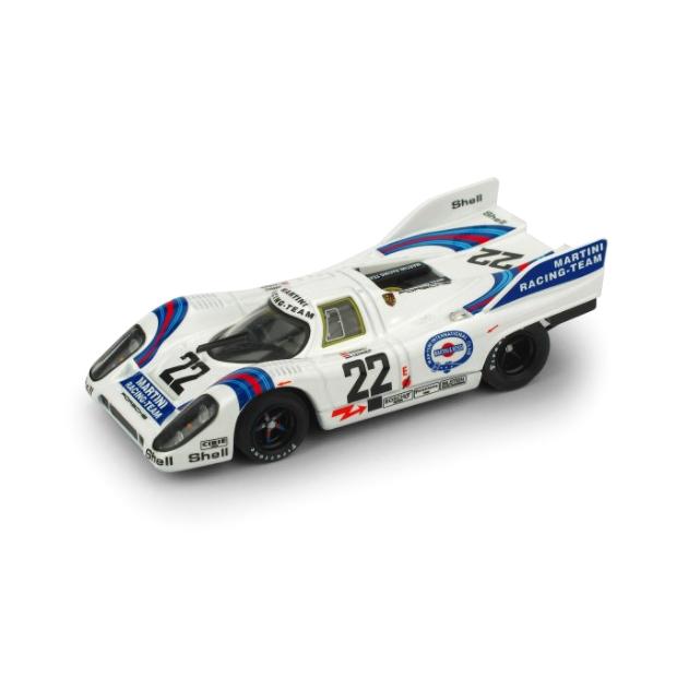 BRUMM/ブルム ポルシェ 917K 1971ル・マン 優勝 #22 MarkoVanLennepMartiniRacingTeam