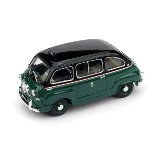 BRUMM/ブルム フィアット 600 ムルティプラ 1956 ミラノタクシー