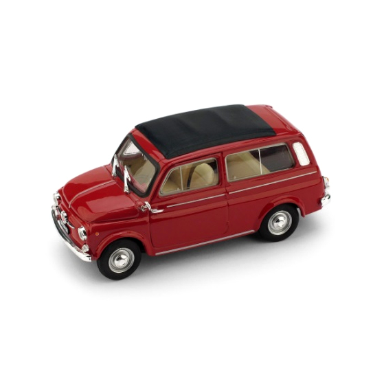 BRUMM/ブルム フィアット 500 ミニバン クローズド 1960 レッド