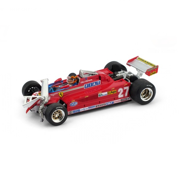 BRUMM/ブルム フェラーリ 126 CK ターボ 55周-56週目 1981年モントリオールGP #27