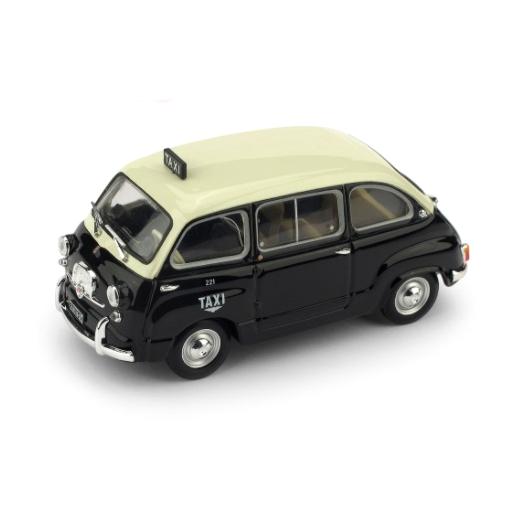 BRUMM/ブルム フィアット 600D ムルティプラ 1960 ジュネーブタクシー
