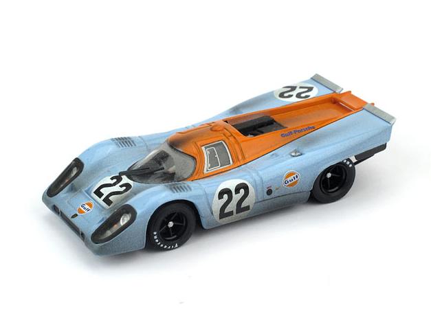 BRUMM/ブルム ポルシェ 917K Scuderia JWA-Gulf 1970年ルマン #22 レース後仕様
