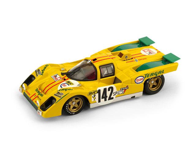 BRUMM/ブルム Ferrari 512M 1971年ツール・ド・コルス 2位  #142