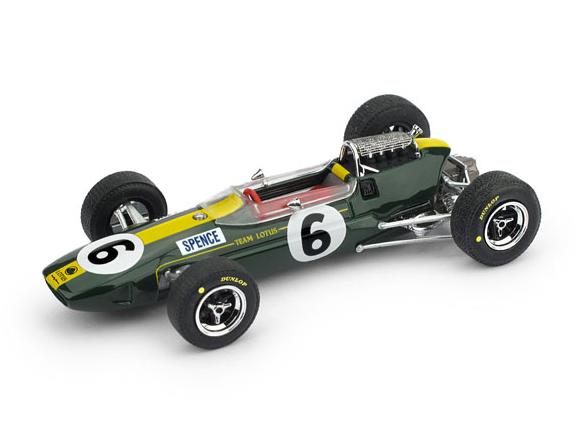 BRUMM/ブルム ロータス 33 1965年イギリスGP 4位 #6 M. SPENCE
