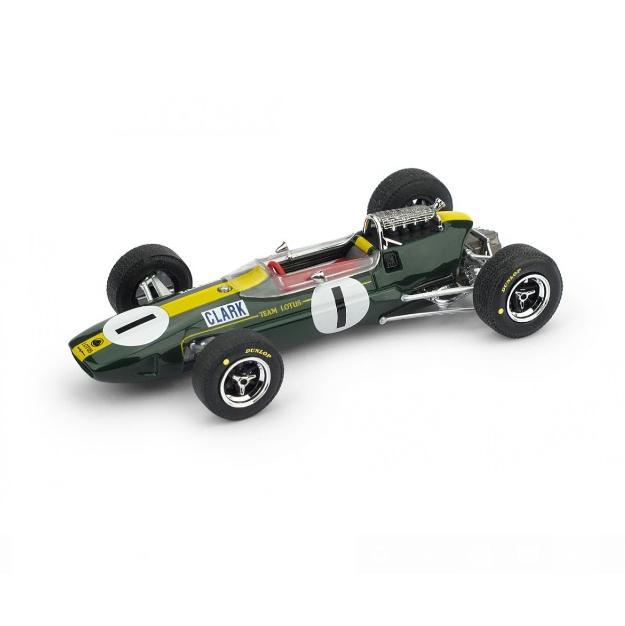 BRUMM/ブルム ロータス 33 1965年ドイツGP 1位  #1  J. Clark