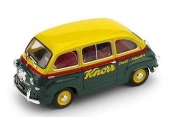 BRUMM/ブルム フィアット 600 ムルティプラ 1956  KNORR
