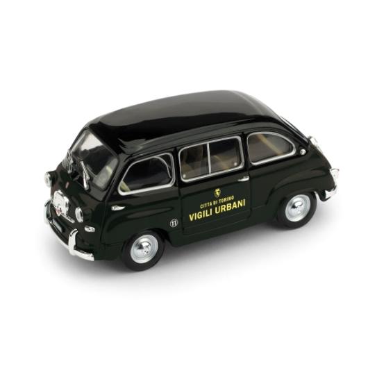 BRUMM/ブルム フィアット 600  ムルティプラ 1956 トリノ市交通警察