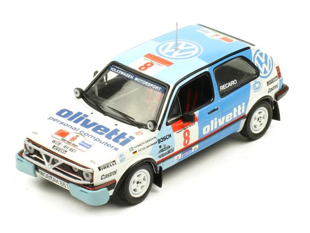 ixo/イクソ VW ゴルフ GTI 16V 1987年 サファリ #8 Ericsson / Diekmann