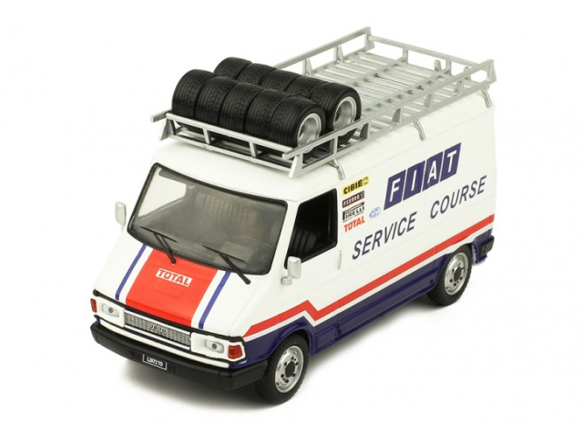 ixo/イクソ フィアット 242? FIAT FRANCE Service Course 1979  ルーフラック