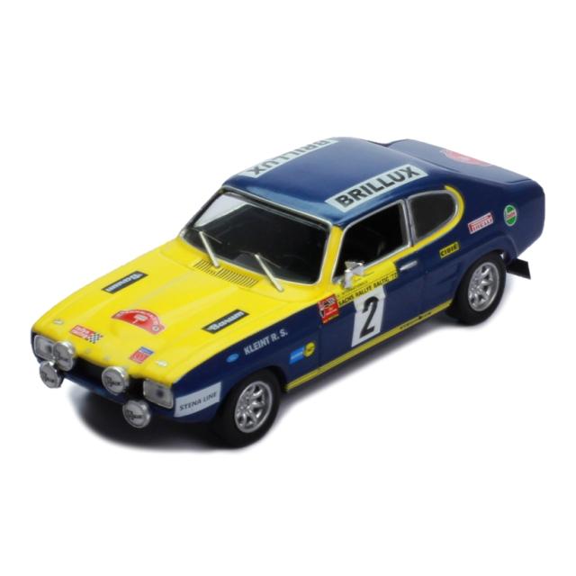 ixo/イクソ フォード カプリ 1972年バルチックラリー #2 W.Rohrl /J.Berger Sachs
