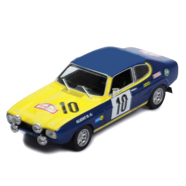 ixo/イクソ フォード カプリ 1972年ラリー・ポーランド #10 W.Rohrl/J.Berger