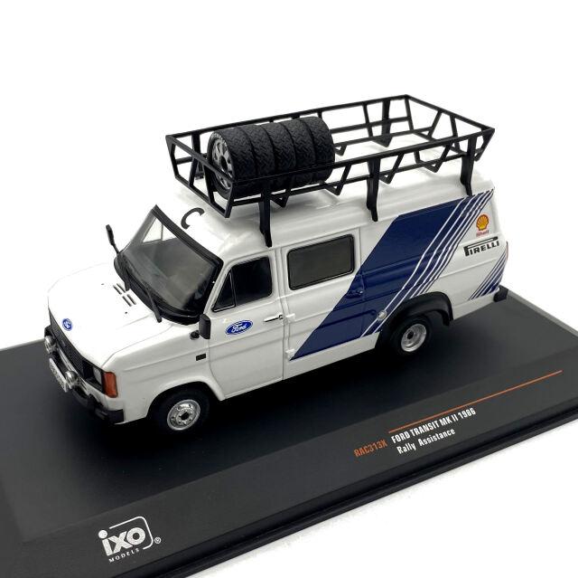 ixo/イクソ フォード トランジット MKII 1986 アシスタントカー
