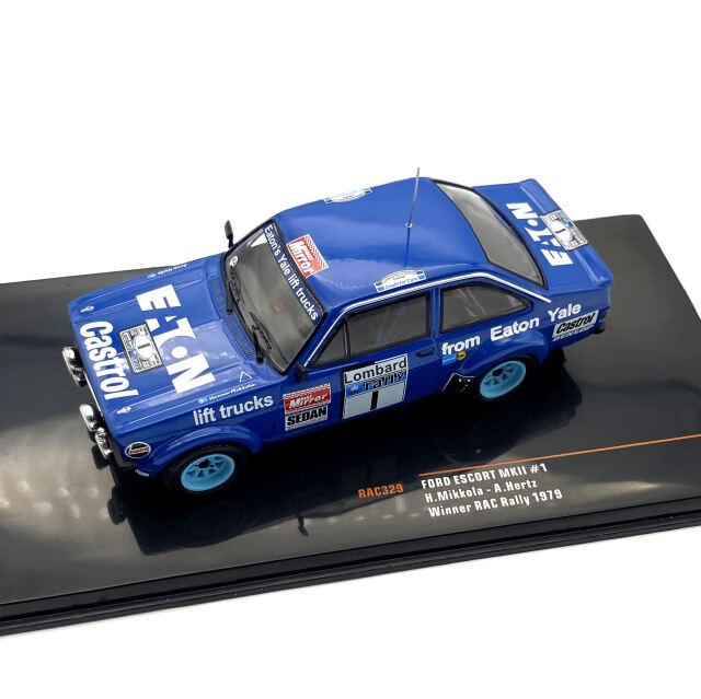 ixo/イクソ フォード エスコート MKII 1979年RACラリー 優勝 #1 Mikkola / Hertz