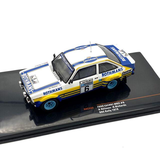 ixo/イクソ フォード エスコート MKII 1979年RACラリー #6 Vatanen/Richards