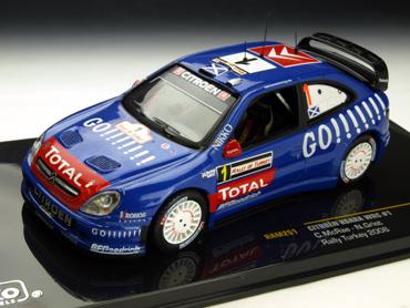 ixo/イクソ シトロエン クサラ WRC ナイトライトナシ 06 ラリー・オブ・トルコ  #1 C.McRa