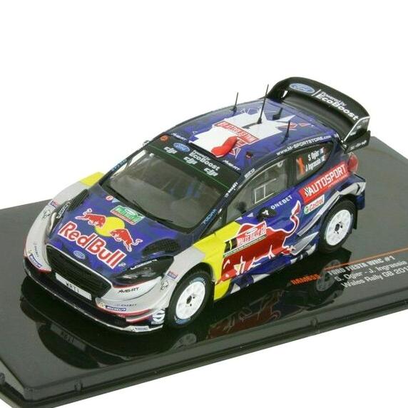 ixo/イクソ フォード フィエスタ WRC 2018 モンツァラリーショー 2位 #5 T.Suninen / M. Salmien