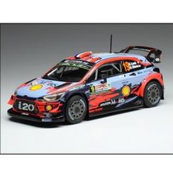 ixo/イクソ ヒュンダイ i20 クーペ WRC 2019年ラリー・チリ #19 S. Loeb/D. Elena