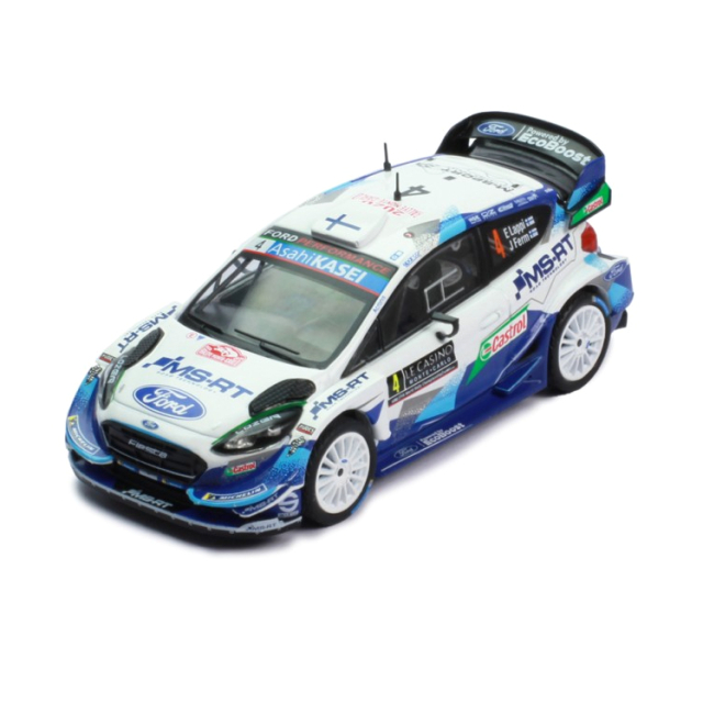 ixo/イクソ フォード フィエスタ WRC 2020年ラリー・モンテカルロ  #4 E.Lappi/J.Fern