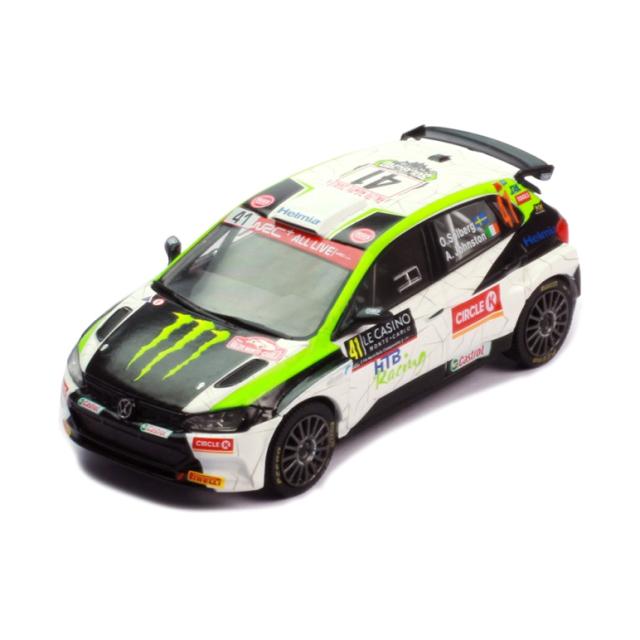ixo/イクソ VW ポロ GTI R5 2020年ラリー・モンテカルロ  #41 O.Solberg/A.Johnston