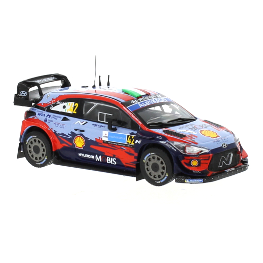 ixo/イクソ ヒュンダイ i20 クーペ WRC 2020年エストニアラリー #42 C.Breen / P.Nagle