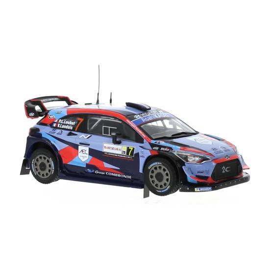 ixo/イクソ ヒュンダイ i20 クーペ WRC 2020年ラリー・サルデーニャ #7