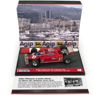 BRUMM/ブルム フェラーリ 126CK ターボ 1981-2021 フェラーリターボエンジン初優勝40周年記念