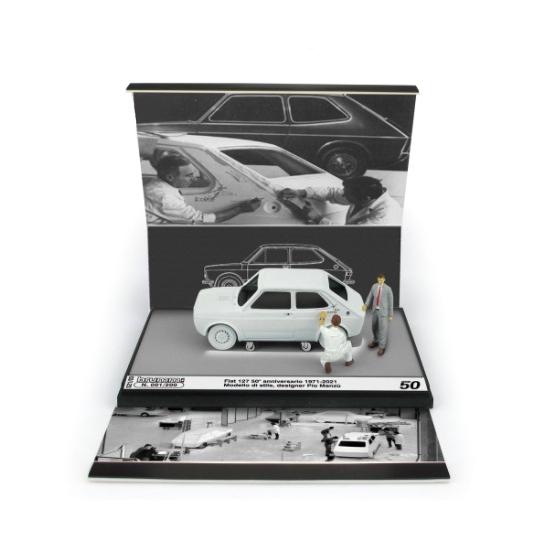 BRUMM/ブルム フィアット 127 1a シリーズ Pio Manzu 50周年記念 1971-2021