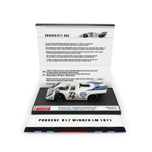 BRUMM/ブルム ポルシェ 917K 1971ル・マン 優勝 #22 50周年記念