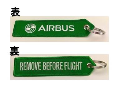 LIMOX/リモックス キーチェーン: エアバス RBF グリーン