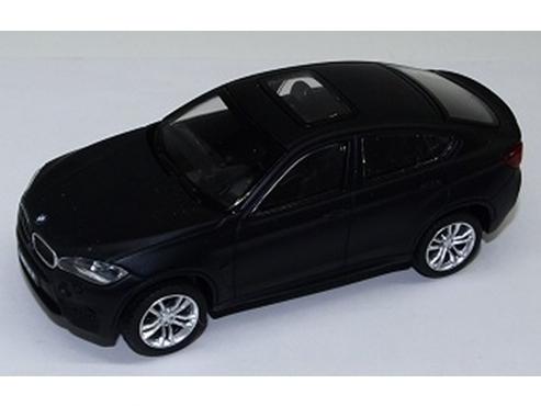 CMC TOY/シーエムシートイ BMW X6 M マット・ブラック プルバックカー