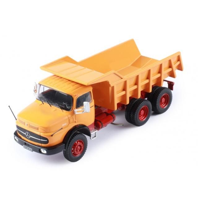 ixo/イクソ MB LK 2624 ダンプトラック?1979 オレンジ