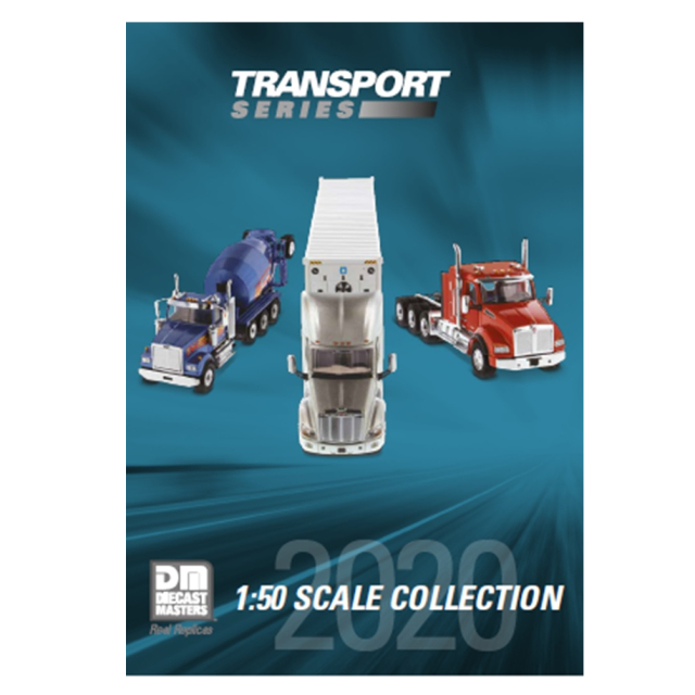DIECAST MASTERS DIECAST MASTERS トランスポートシリーズ 2020 カタログ 英字 A4縦型10ページ