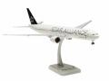 HoganWings/ホーガンウイングス B777-300ER エバー航空 スターアライアンス塗装 ランディングギア/スタンド付属
