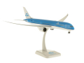 HoganWings/ホーガンウイングス B787-9 KLMオランダ航空 飛行姿勢 ランディングギア/スタンド付属 新塗装、WiFiレドーム付