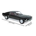 NOREV/ノレブ フォード マスタング Fastback 1968 ブラック