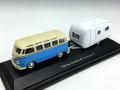 Cararama/カララマ VW サンババス キャンピングカー付 ライトブルー