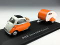 Cararama/カララマ BMW イセッタ キャンピングカー付 オレンジ