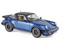 NOREV/ノレブ ポルシェ 911 ターボ タルガ 1987  メタリックブルー