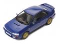 ixo/イクソ スバル インプレッサ WRX STI 1995 ブルー RHD