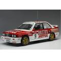 ixo/イクソ BMW E30 M3  1988年ツール・ド・コルス #9  F.Chatriot / M.Perin