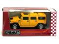 KiNSMART/キンスマート プルバックカー ハマーH2 イエロー